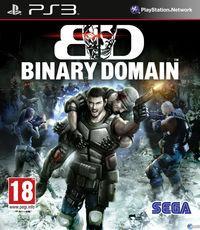 Portada oficial de Binary Domain para PS3
