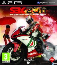 Portada oficial de SBK 2011 para PS3