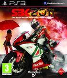 Portada oficial de de SBK 2011 para PS3