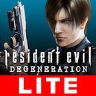 Portada oficial de de Resident Evil Degeneration para iPhone