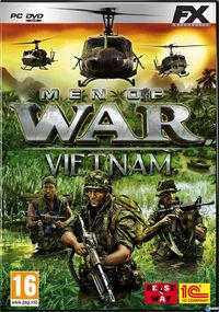 Portada oficial de Men of War: Vietnam para PC