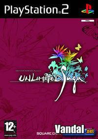 Portada oficial de Unlimited Saga para PS2