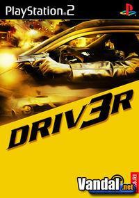 Portada oficial de DRIV3R para PS2