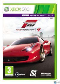 Portada oficial de Forza Motorsport 4 para Xbox 360