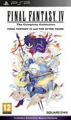 Portada oficial de de Final Fantasy IV Complete Collection para PSP