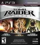 Portada oficial de de Tomb Raider Trilogy para PS3