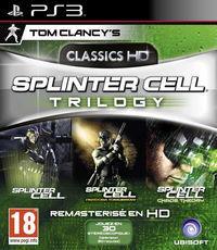 Portada oficial de Splinter Cell HD Trilogy para PS3