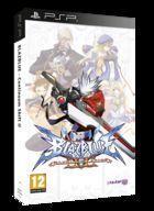 Portada oficial de de BlazBlue: Continuum Shift II para PSP