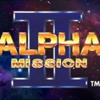 Portada oficial de Alpha Mission II PSN para PSP