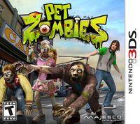 Portada oficial de Pet Zombies in 3D para Nintendo 3DS