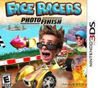 Portada oficial de Face Kart: Photo Finish para Nintendo 3DS