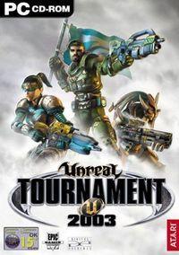 Portada oficial de Unreal Tournament 2003 para PC