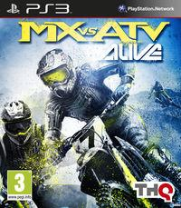 Portada oficial de MX vs. ATV Alive para PS3