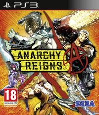 Portada oficial de Anarchy Reigns para PS3