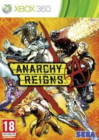 Portada oficial de Anarchy Reigns para Xbox 360