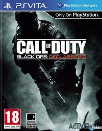 Portada oficial de Call of Duty Black Ops: Declassified para PSVITA