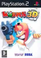 Portada oficial de de Worms 3D para PS2