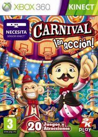 Portada oficial de Carnival Games: en acción para Xbox 360