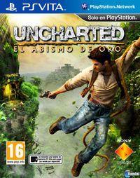 Portada oficial de Uncharted: El Abismo de Oro para PSVITA