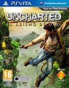 Portada oficial de de Uncharted: El Abismo de Oro para PSVITA