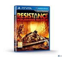 Portada oficial de Resistance: Burning Skies para PSVITA