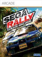 Portada oficial de de Sega Rally Online Arcade XBLA para Xbox 360