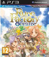 Portada oficial de Rune Factory Oceans para PS3