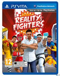 Portada oficial de Reality Fighters para PSVITA