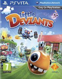 Portada oficial de Little Deviants para PSVITA