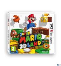Portada oficial de Super Mario 3D Land para Nintendo 3DS