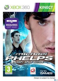 Portada oficial de Michael Phelps - Push the Limits para Xbox 360