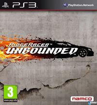 Portada oficial de Ridge Racer Unbounded para PS3