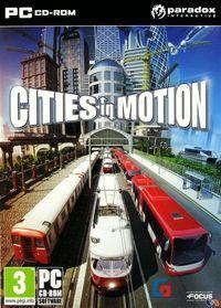 Portada oficial de Cities in Motion para PC