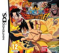 Portada oficial de One Piece: Gigant Battle para NDS