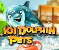 Portada oficial de 101 Dolphin Pets DSiW para NDS