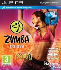 Portada oficial de Zumba Fitness para PS3