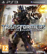 Portada oficial de Transformers: El lado oscuro de la luna para PS3