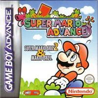 Portada oficial de Super Mario Advance para Game Boy Advance