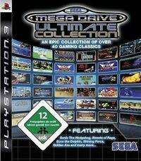 Portada oficial de Sega Genesis Collection PSN para PS3