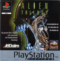 Portada oficial de Alien Trilogy para PS One