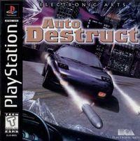 Portada oficial de Auto Destruct para PS One