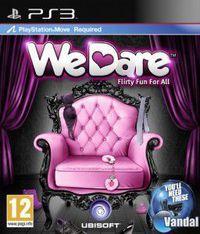 Portada oficial de We Dare para PS3
