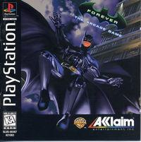 Portada oficial de Batman Forever para PS One