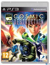 Portada oficial de Ben 10 Ultimate Alien Cosmic Destruction para PS3