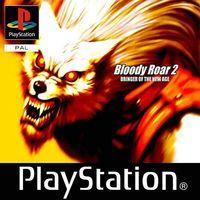 Portada oficial de Bloody Roar 2 para PS One