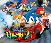 Portada oficial de Sonic Drift 2 CV para Nintendo 3DS