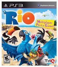 Portada oficial de Rio The Video Game para PS3