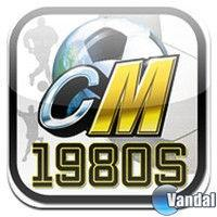 Portada oficial de Championship Manager 1980s Legends para iPhone