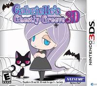 Portada oficial de Gabrielle's Ghostly Groove 3D para Nintendo 3DS