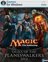 Portada oficial de Magic: The Gathering - Duels of the Planeswalkers 2012 para PC